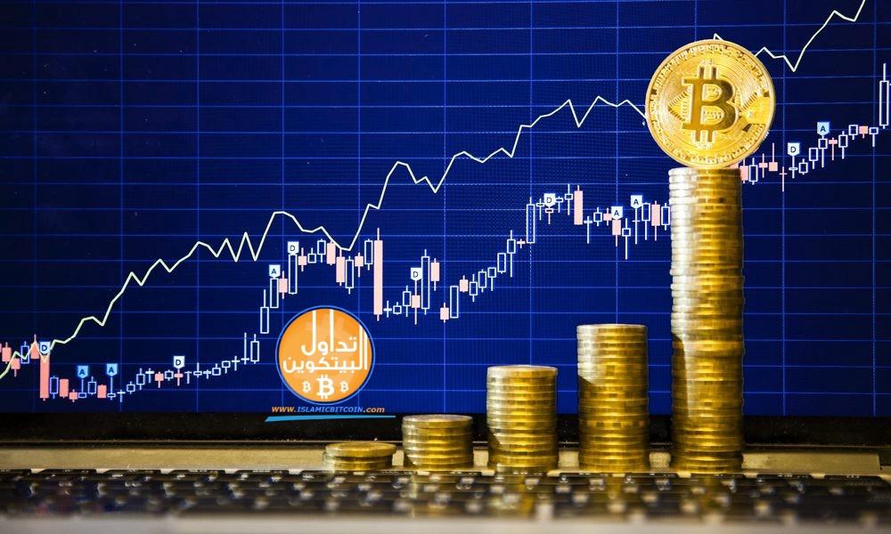 سعر البيتكوين يرتفع إلى 6450 دولار مع استقرار السوق ، هلوصلت العملات الرقمية الى القاع ؟